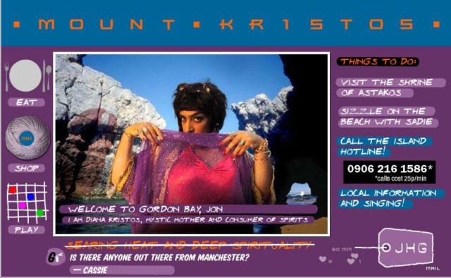 Mount Kristos browser-based game